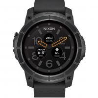 Mens Nixon The Mission Android Wear Bluetooth Smart Watch