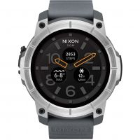 Mens Nixon The Mission Android Wear Bluetooth Smart Alarm Watch A1167-2101