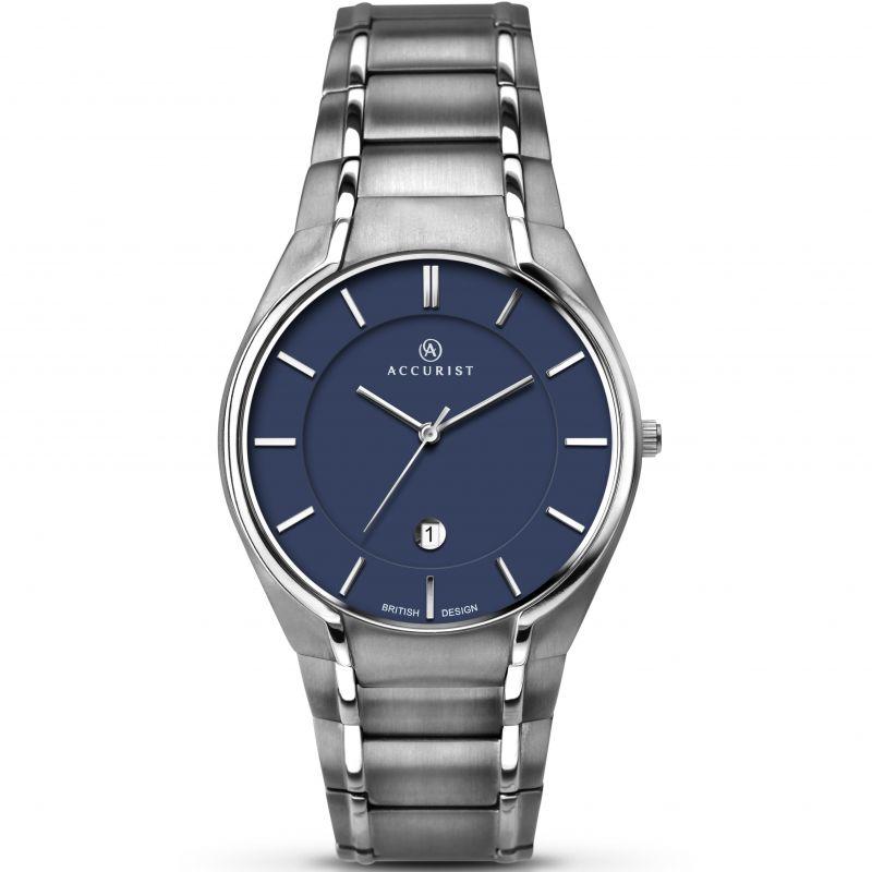 Mens Accurist London Classic Titanium Watch
