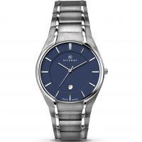 Mens Accurist London Classic Titanium Watch 7138