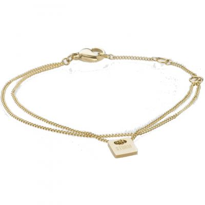 MINI-TAG-BRACELET-GOLD Image 0