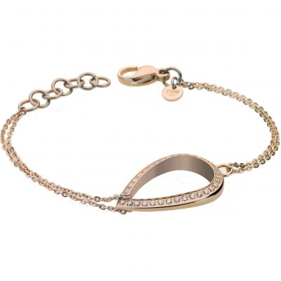 Ladies STORM Rose Gold Plated Elipsia Bracelet ELIPSIA-BRACELET-ROSE-GOLD