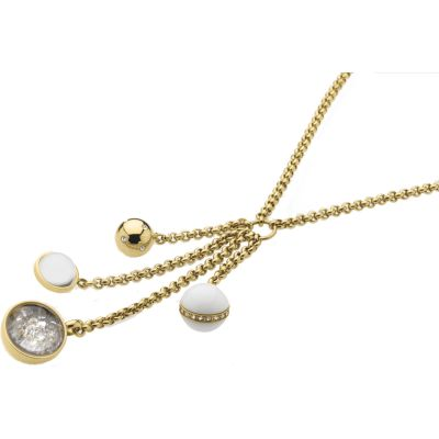 Ladies STORM Gold Plated Solar Necklace SOLAR-NECKLACE-GOLD