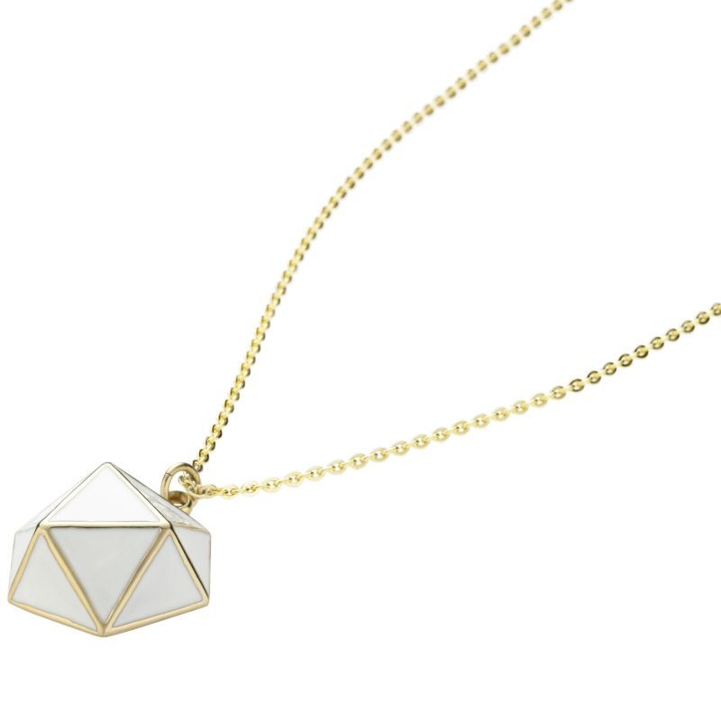 Ladies STORM Gold Plated Geo Necklace GEO-NECKLACE-GOLD