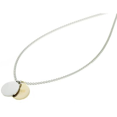 ALANA-DISC-NECKLACE-GOLD Image 0