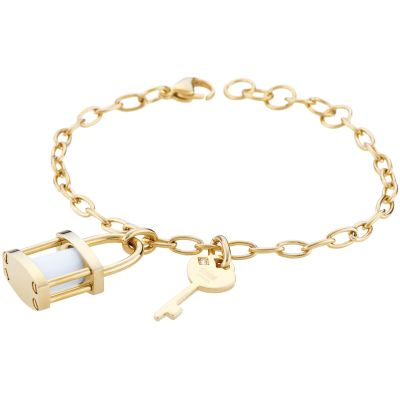Ladies STORM Gold Plated Onyxia Bracelet ONYXIA-BRACELET-GOLD