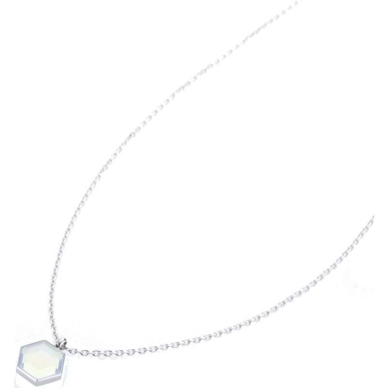 Ladies STORM Silver Plated Mimoza Necklace MIMOZA-NECKLACE-SILVER