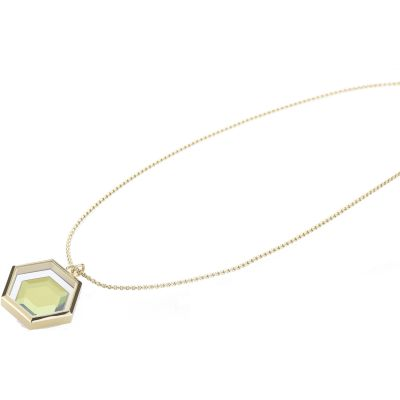Ladies STORM Gold Plated Mimoza-X Necklace MIMOZA-X-NECKLACE-GOLD