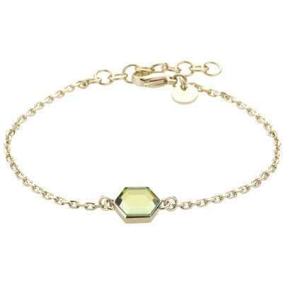Ladies STORM Gold Plated Mimoza Bracelet MIMOZA-BRACELET-GOLD