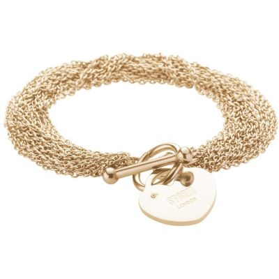 Ladies STORM Gold Plated Lorello Bracelet 9980765/GD