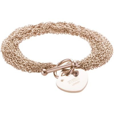 Ladies STORM Rose Gold Plated Lorello Bracelet 9980765/RG