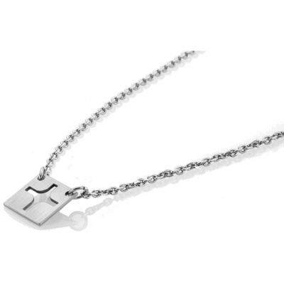 Ladies STORM Silver Plated Dexon Necklace 9980464/S