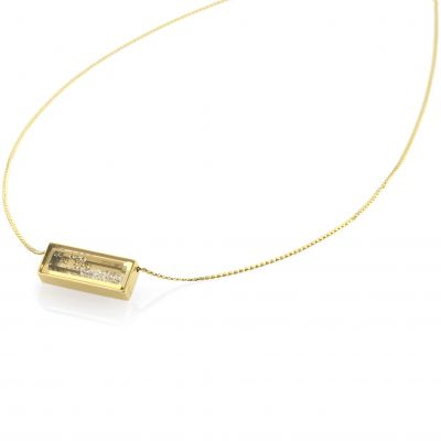 Ladies STORM PVD Gold plated Bazelle Necklace 9980773/GD