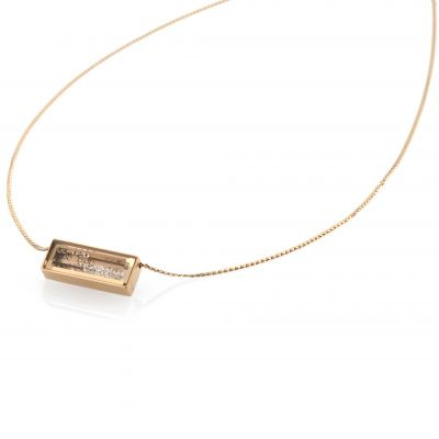 Ladies STORM PVD rose plating Bazelle Necklace 9980773/RG