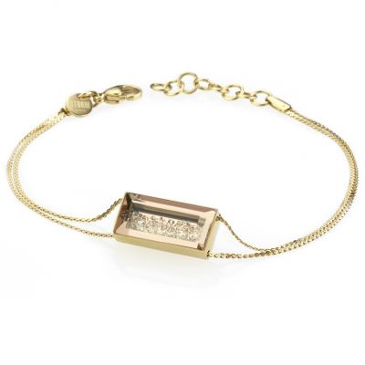 Ladies STORM PVD Gold plated Bazelle Bracelet 9980774/GD