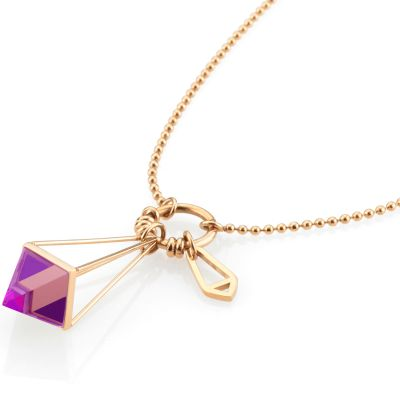 Ladies STORM PVD rose plating Marizza Necklace MARIZZA-NECKLACE-ROSE-GOLD