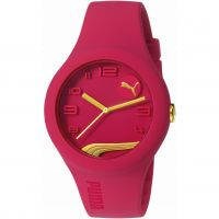 Mens Puma PU10300 FORM - raspberry gold Watch
