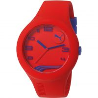 Mens Puma PU10321 FORM XL - red navy Watch