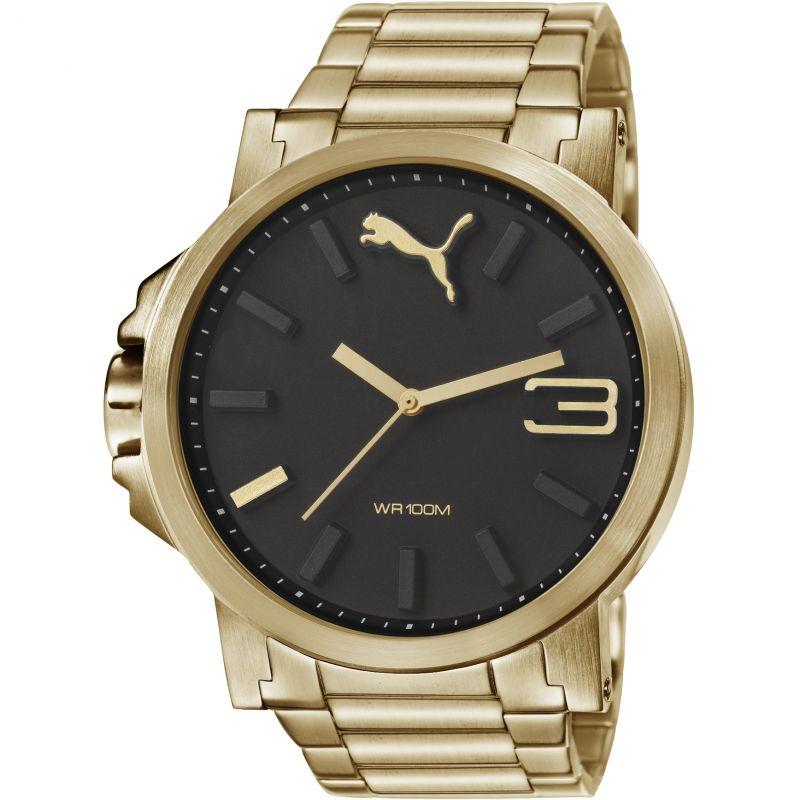 Mens Puma PU10346 ULTRASIZE 50 - metal gold Watch