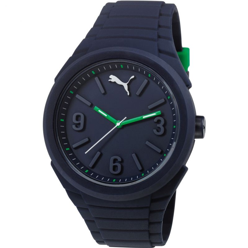 Mens Puma PU10359 GUMMY - night blue Watch PU103592006