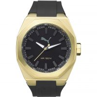 Mens Puma PU10405 VICTORY - gold black Watch