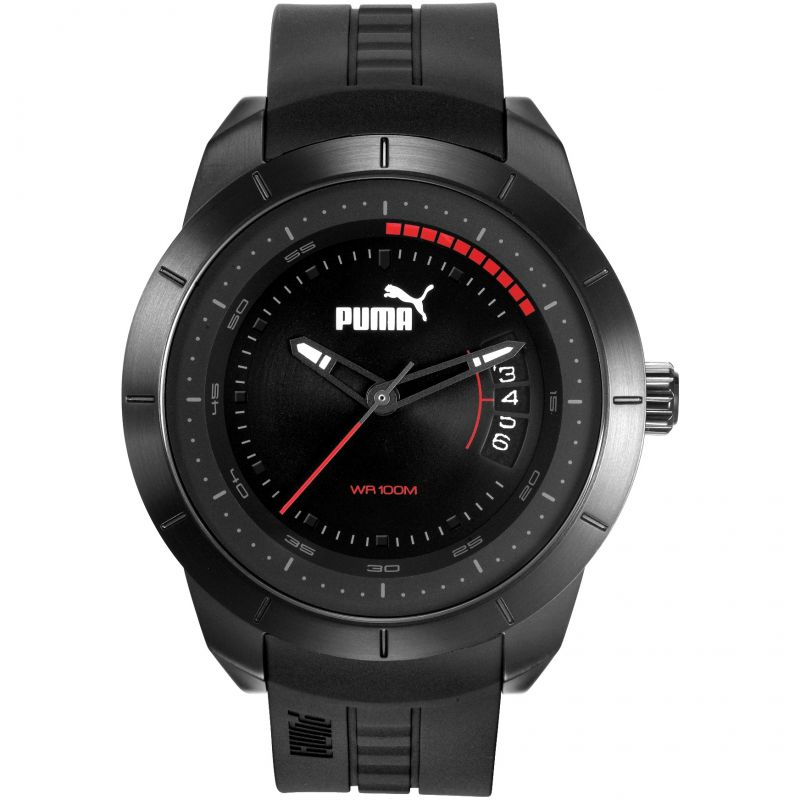 Mens Puma PU10419 MODERN MOTORSPORT - black Watch
