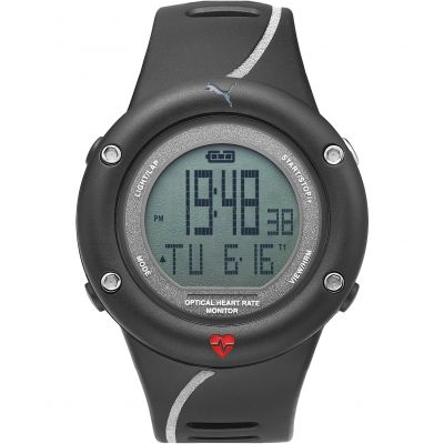 Mens Puma PU91129 OPTICAL CARDIAC - reflective Alarm Chronograph Watch PU911291002