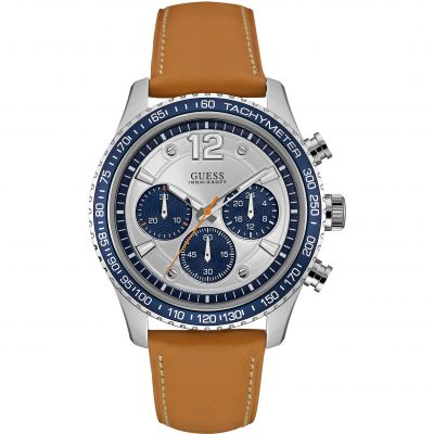 Mens Guess Fleet Chronograph Watch W0970G1
