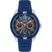 Mens Guess Tread Watch