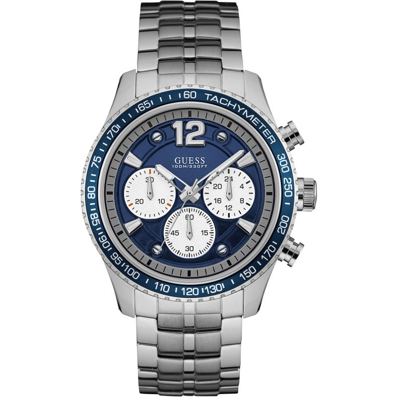 Mens Guess Fleet Chronograph Watch W0969G1