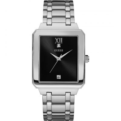 Guess Highrise Herrklocka Silver W0917G1