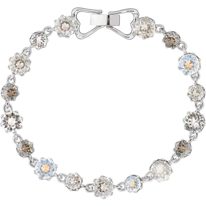 Ladies Ted Baker Silver Plated Chaley Crystal Crown Bracelet SM TBJ1314-01-230SM