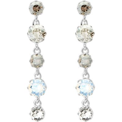 Bijoux Femme Ted Baker Caralee Crystal Crown Long Boucle d'oreille TBJ1315-01-230