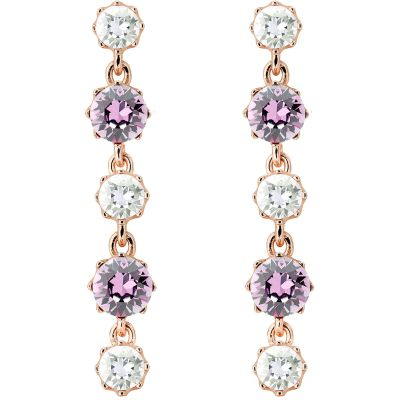 Bijoux Femme Ted Baker Caralee Crystal Crown Long Boucle d'oreille TBJ1315-24-34