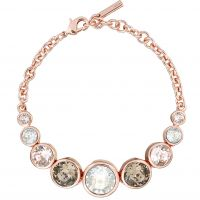 Ladies Karen Millen PVD rose plating Crystal Bracelet KMJ048-24-161