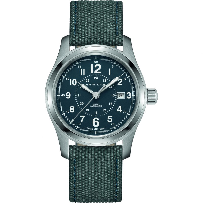 Mens Hamilton Khaki Field 42mm Automatic Watch H70605943