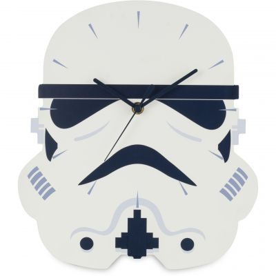 Star Wars Stormtrooper Wall Clock Kinderenhorloge Wit STAR429