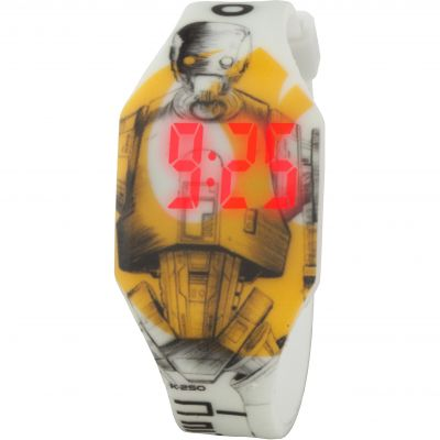 Star Wars Seal Droid Led Kinderenhorloge Meerkleurig STAR441