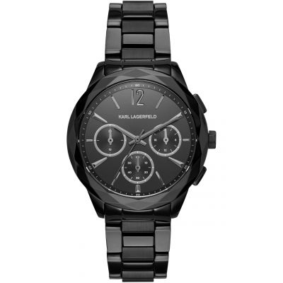 Ladies Karl Lagerfeld Optik Chronograph Watch KL4016