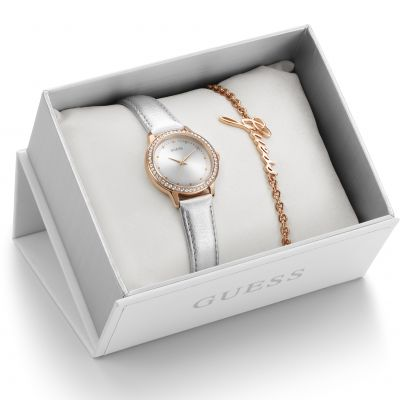 Ladies Guess Gift Set Watch UBS82107-L