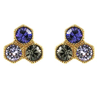 Biżuteria damska Juicy Couture Jewellery Geometric Luxe Wishes Stud Earrings WJW57575-712