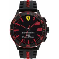 Mens Scuderia Ferrari Alarm Watch