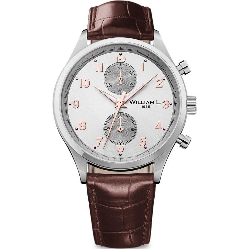 Mens William L 1985 Small Chrono Chronograph Watch