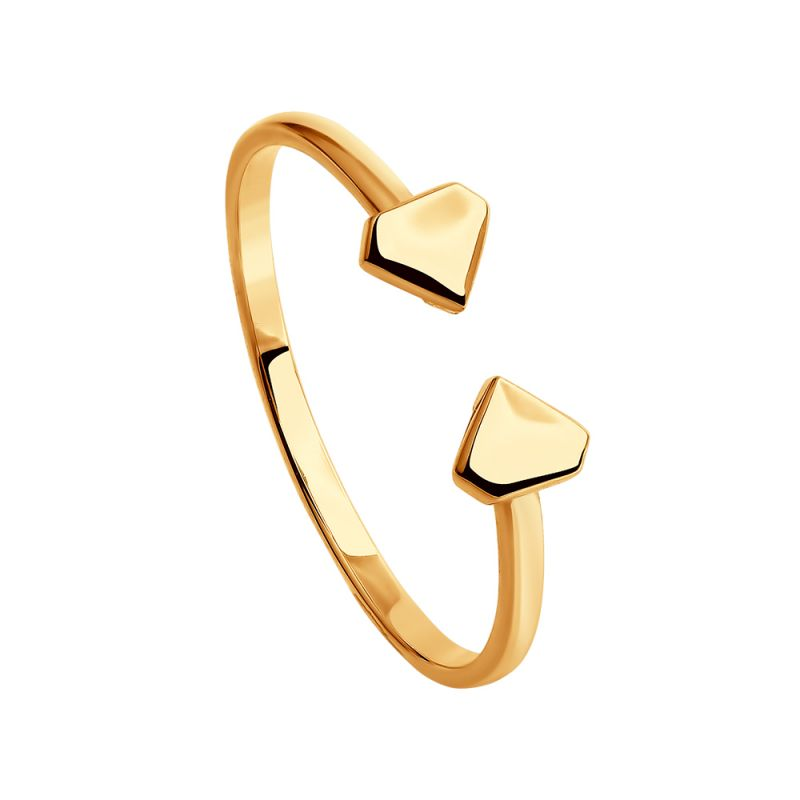Ladies Sokolov 14 Carat Gold Size N Geometric Ring 61011003