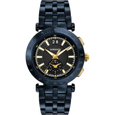 Mens Versace V-Race Chronograph Watch VAH050016