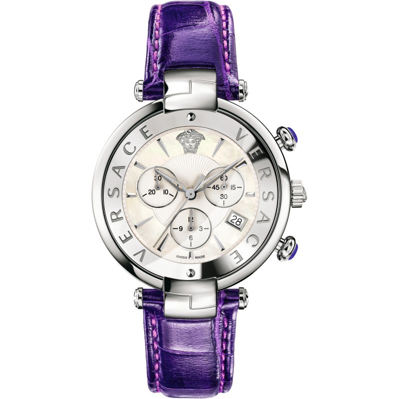 Ladies Versace Reve 41mm Chronograph Watch