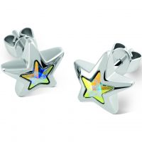 Ladies Swatch Bijoux Stainless Steel Puntostella Stud Earrings JED030-U