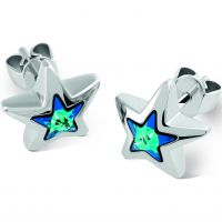 Ladies Swatch Bijoux Stainless Steel Puntostella Stud Earrings JES026-U