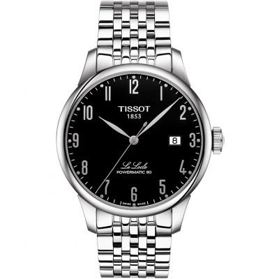 Tissot T-Classic Le Locle Powermatic 80 Herrenuhr in Silber T0064071105200