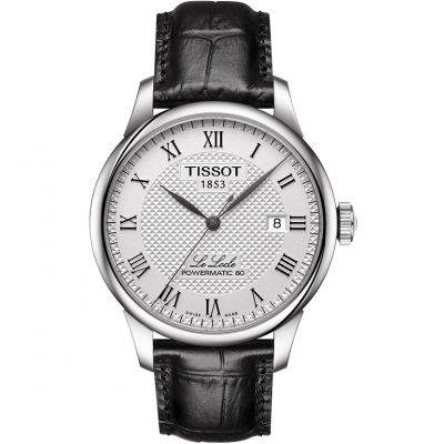 Tissot Le Locle Powermatic 80 Herenhorloge Zwart T0064071603300